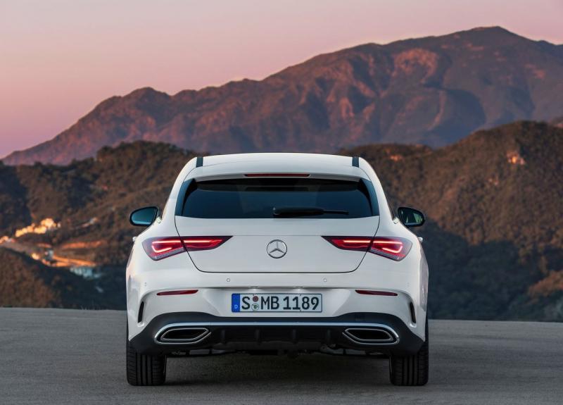 Mercedes CLA Shooting Brake 2019 – спортивный универсал сменил поколение
