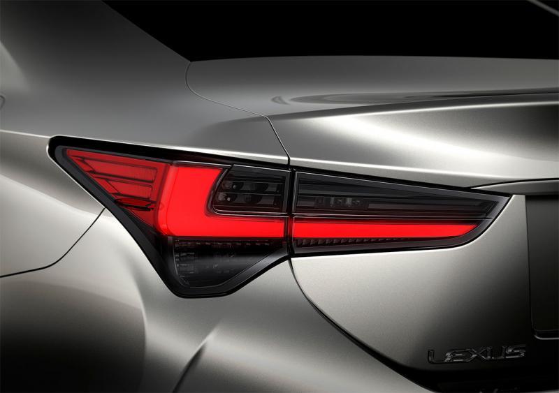 Lexus RC 2019 – рестайлинг купе Лексус РС