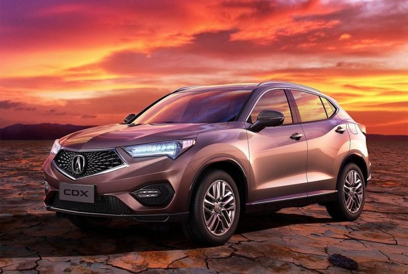 Кроссовер Acura CDX – пока только для Китая