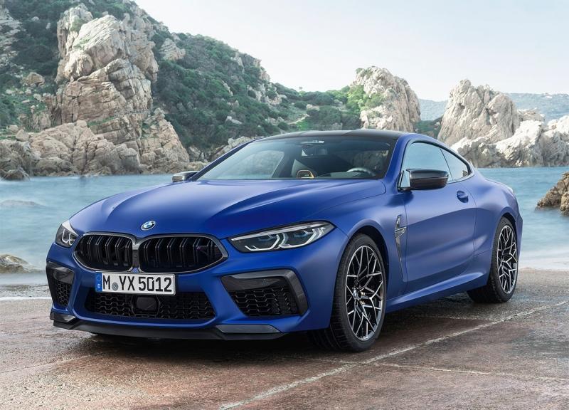 BMW M8 2019 – новый БМВ М8 представлен квартетом
