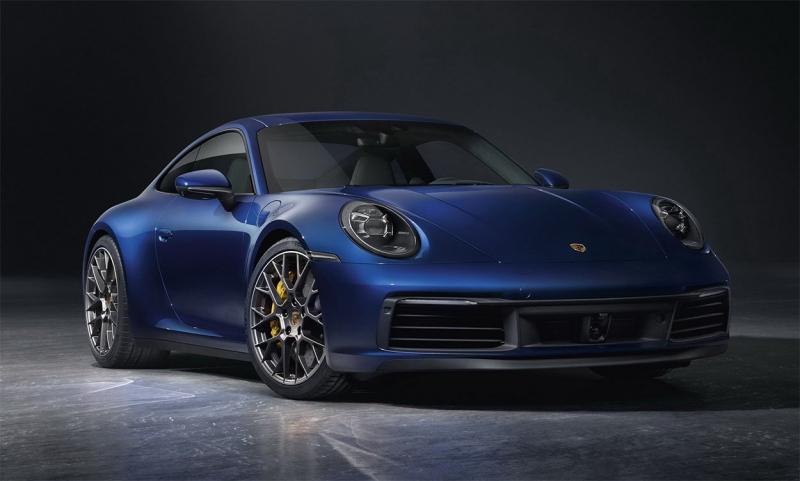 Porsche 911 2019 – спорт кар Порше 911 серии 992