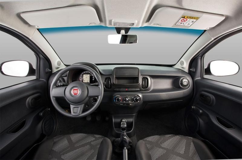 Fiat Mobi – бразильский сити-кар