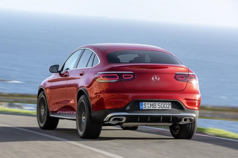 Mercedes-Benz GLC Coupe 2020 – купе-кроссовер Мерседес ГЛС планово обновился