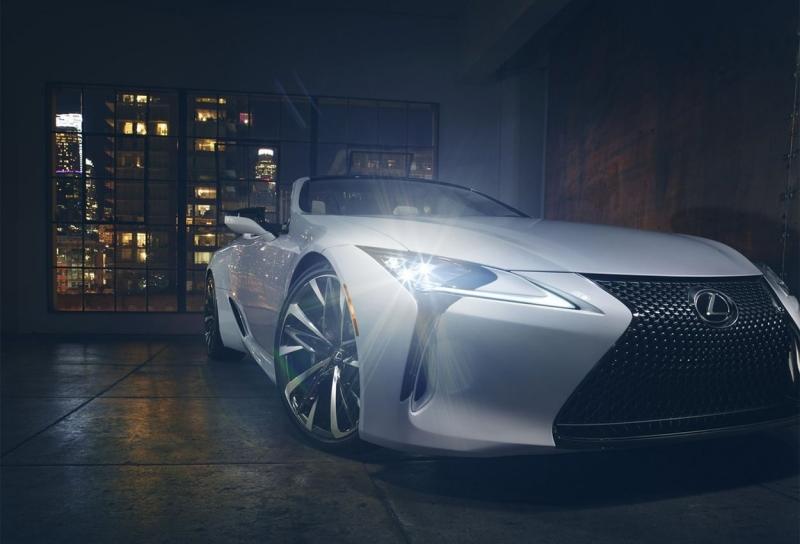 Lexus LC Convertible Concept 2019 – кабриолет на базе купе Лексус ЛС