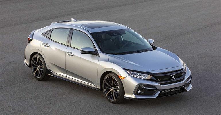 Honda Civic Hatchback 2020 модельного года