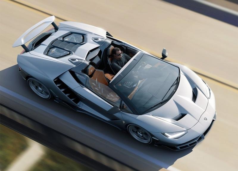 Lamborghini Centenario Roadster – спорт-кар для коллекции