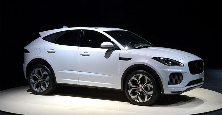 Jaguar E-Pace 2018 – компактный кроссовер Ягуар