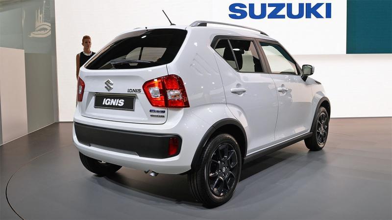 Новый Suzuki Ignis 2017 – мини кроссовер