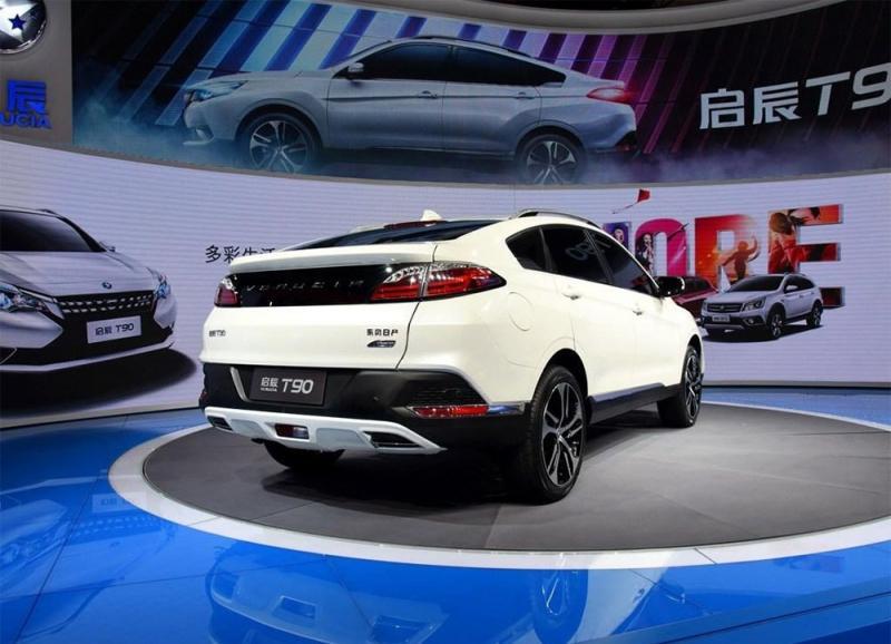 Кроссовер Venucia T90 – новинка от Nissan и Dongfeng