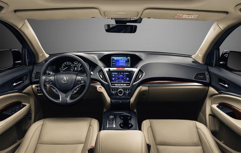 Кроссовер Acura MDX 2016-2017 — обновился 9 АКПП