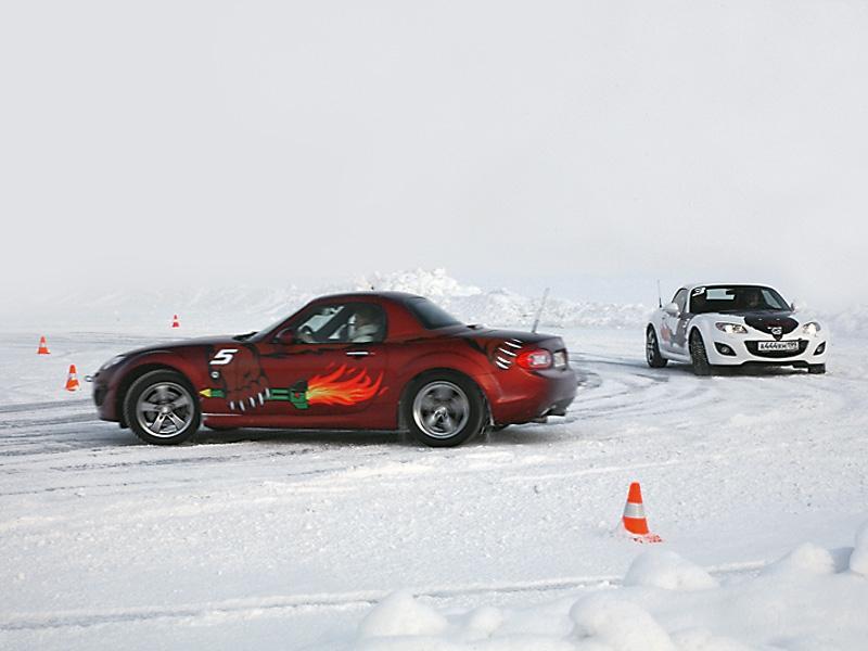 Высший пилотаж: тренинг в Академии спортивного вождения Mazda