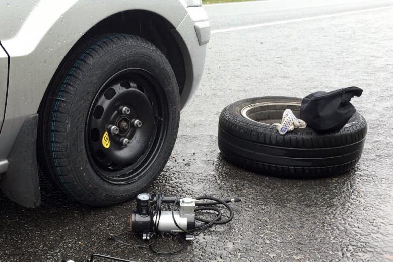 Как накажет автоинспектор за потерянный болт в колесе?