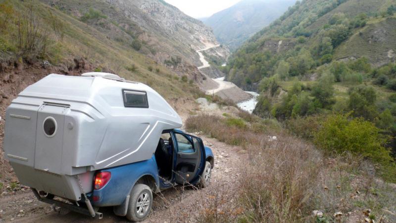 Автодом, Прицеп или Жилой Модуль в пикап?