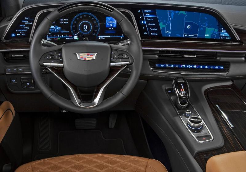 Cadillac Escalade 2021: роскошь в пятом колене