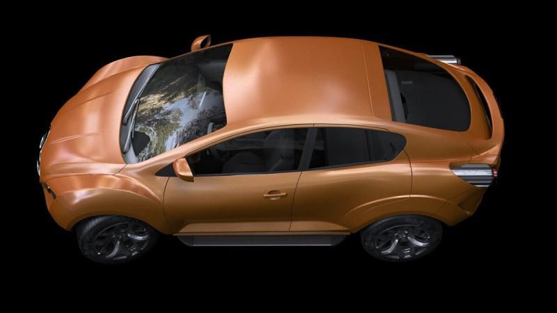 Lada Atlanta - кроссовер от Автоваз, который не доберется до дилеров