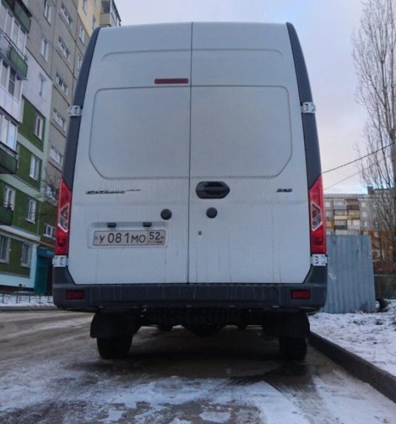 """Новую """"ГАЗель"""" впервые заметили на дорогах страны"""