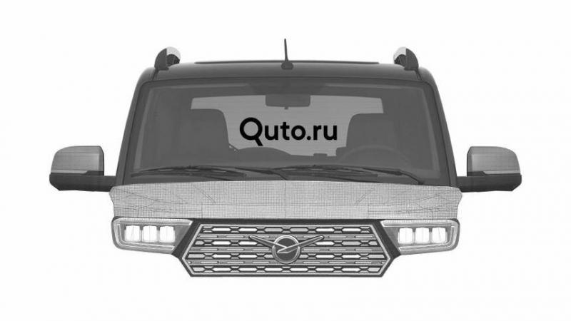 Новый УАЗ Патриот - внедорожник обрел свое окончательное лицо