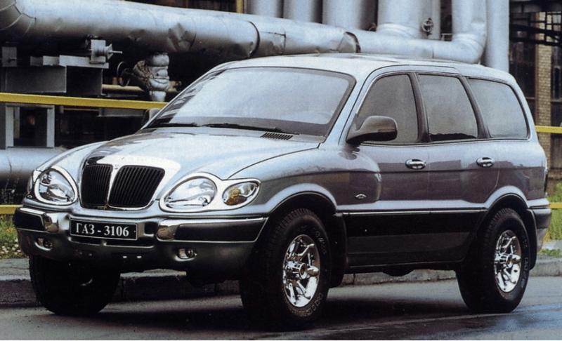 Отечественный внедорожник, который лучше Нивы и УАЗа, ГАЗ 3106