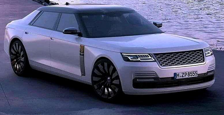 Первый седан от Range Rover показали на фото