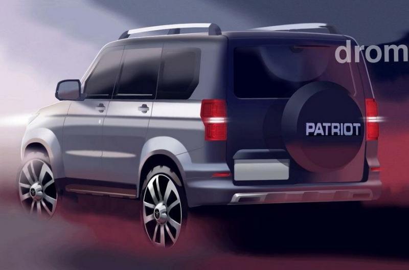 УАЗ Патриот 2021 станет гораздо комфортнее и получит новую раму