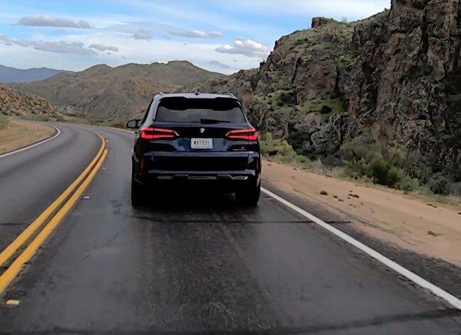 BMW X5 M – один из самых быстрых кроссоверов на планете
