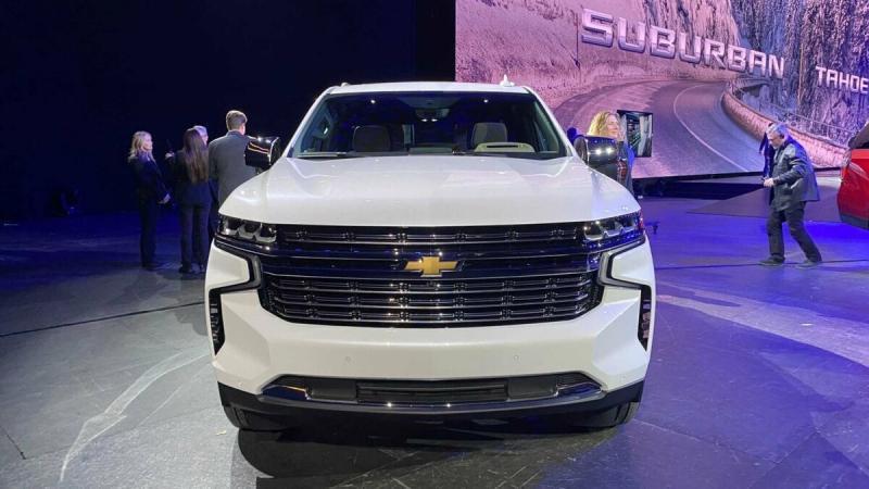 Chevrole Tahoe и Chevrolet Suburban 2020. Обзор, характеристики.