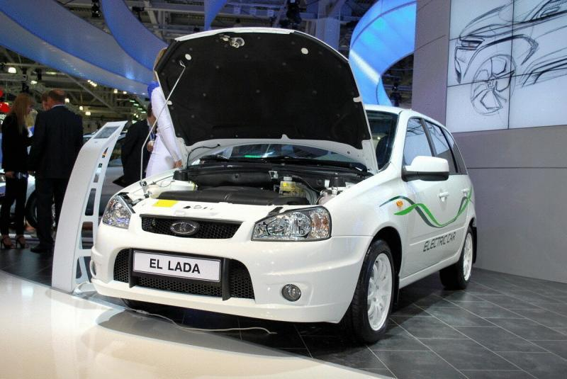 Электромобиль за миллион – Lada Ellada!
