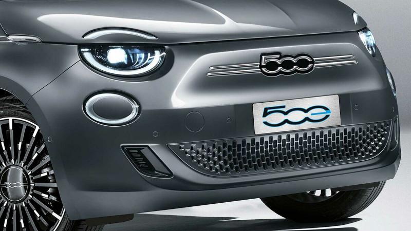 Fiat показала брутальный электрический 500e