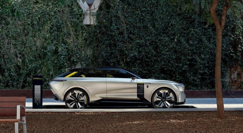 Фотопост: концепт растягивающегося Renault Morphoz