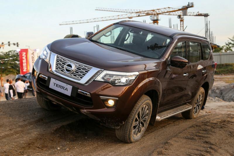 Nissan Terra. Новый рамный внедорожник.