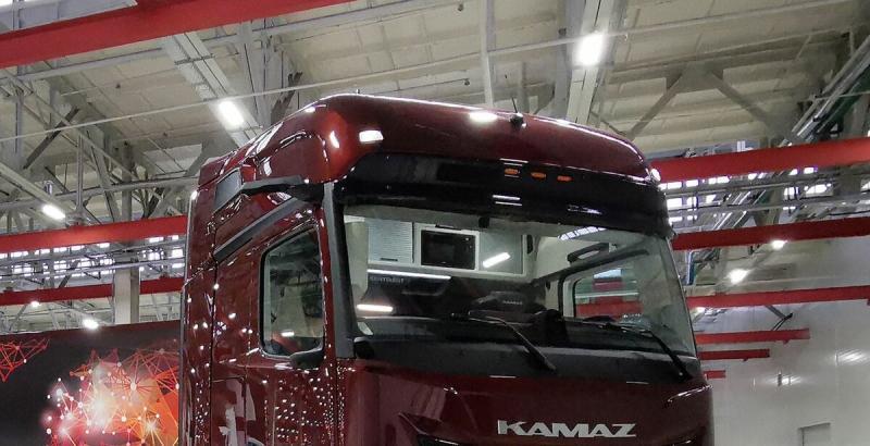 Новый КАМАЗ-54907 — аэродинамические показатели