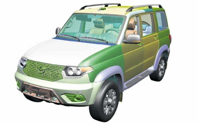 Новый УАЗ Патриот станет еще качественнее благодаря оцифровке