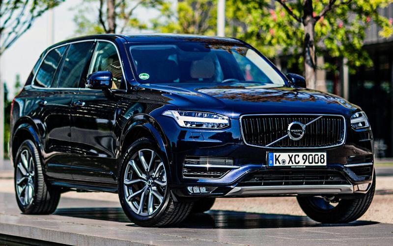 Новый Volvo XC100 2021. Большой флагманский внедорожник. Фото