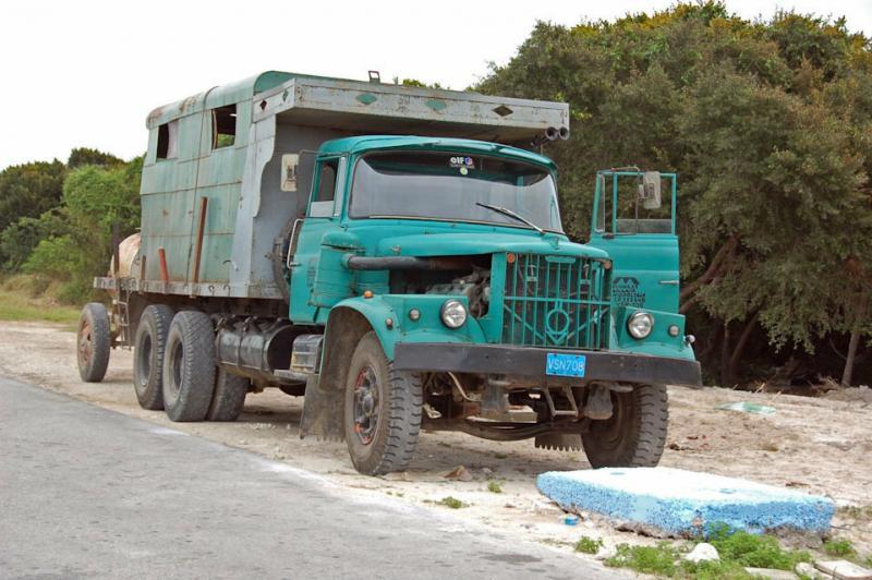 Переделанные грузовики КрАЗ