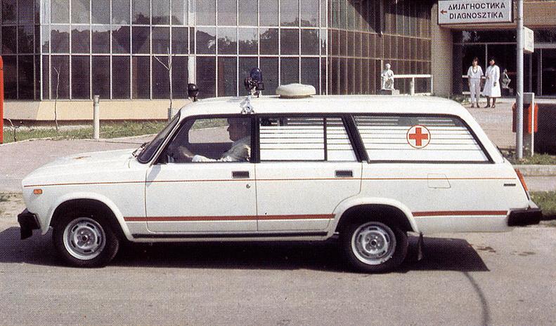 Редкий ВАЗ-2104, который работал на Сербский народ