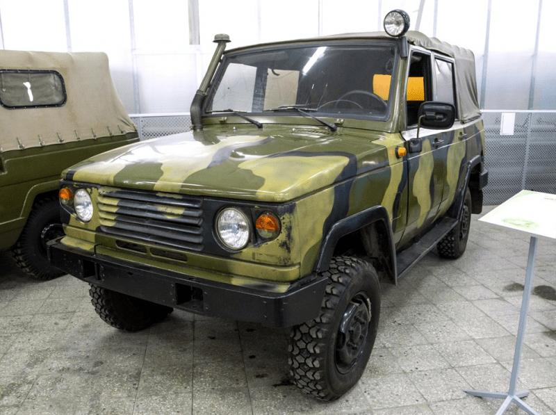 """""""Советский Range Rover"""". УАЗ, который планировали продавать гражданским."""