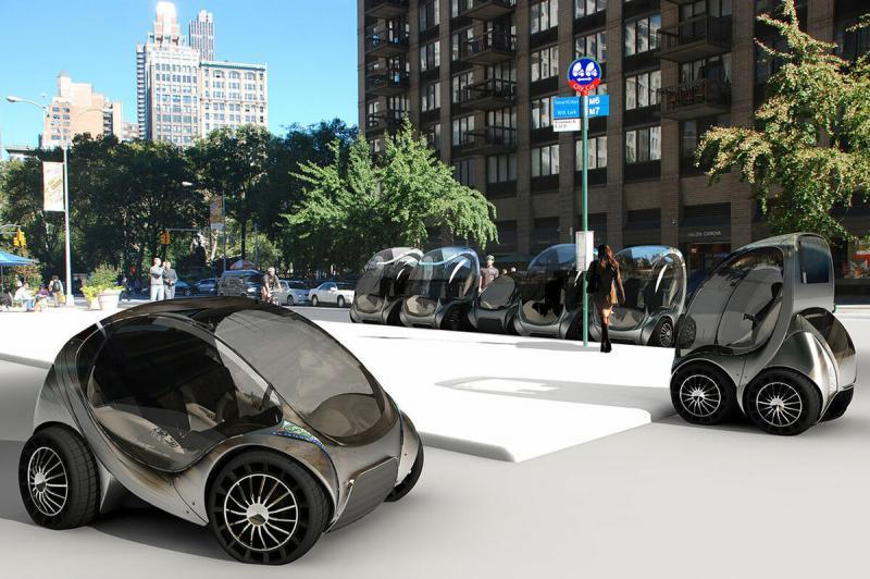 Такое реально? Город с малолитражными автомобилями...