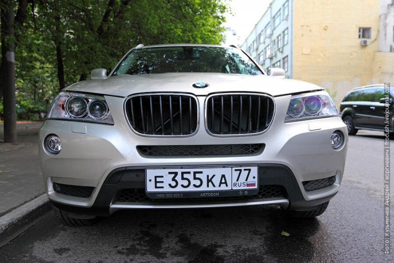 Тест-драйв BMW X3 xDrive30d