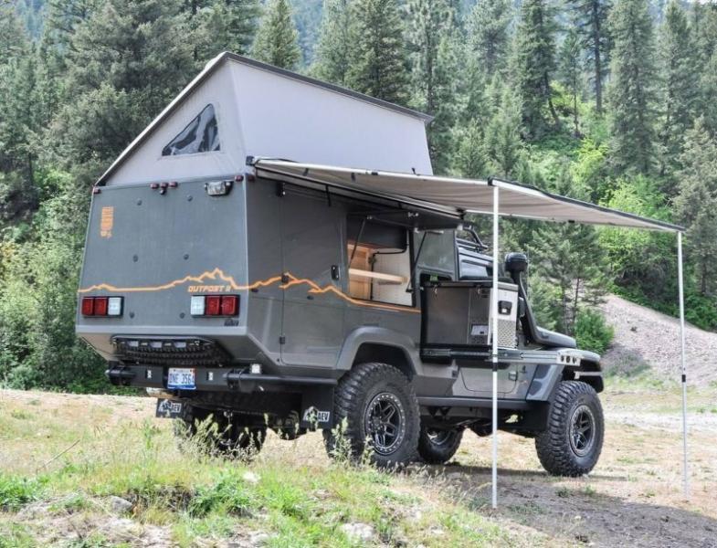 Внедорожный автодом на базе Jeep Wrangler