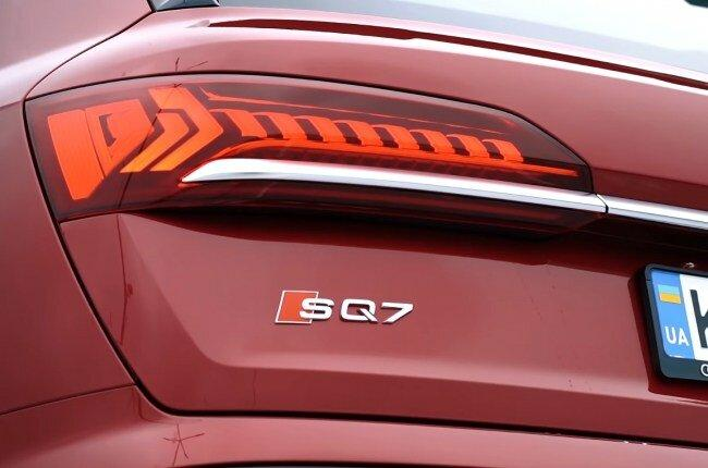 Audi SQ7. Когда нужно что-то особенное