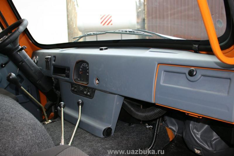 Автодом УАЗ Байкал. Подробности