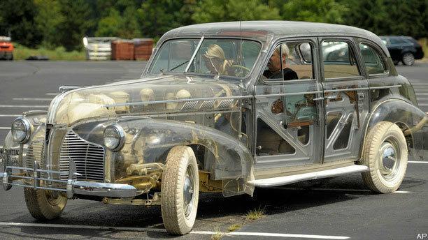 Автомобиль, в котором ничего не спрячешь