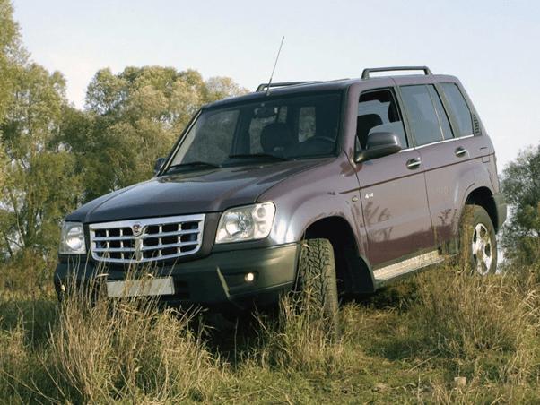 """""""ГАЗ"""" создал автомобиль лучше чем Toyota Land Cruiser 200"""