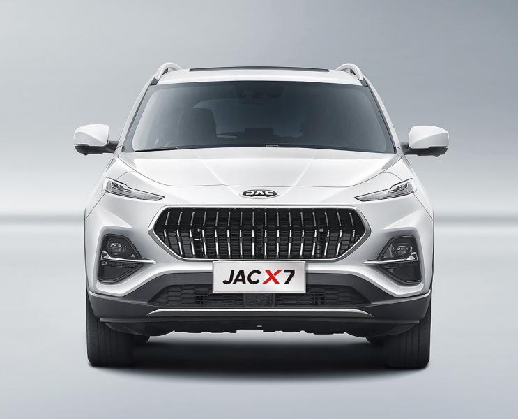 JAC представил свой абсолютно новый вседорожник X7