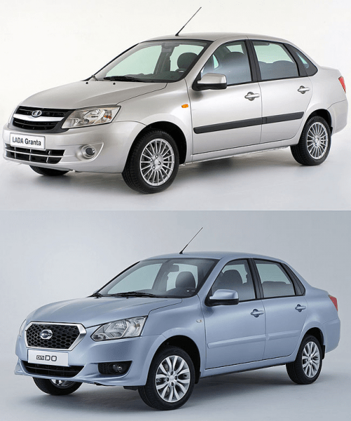 Клоны автомобилей LADA под другими логотипами брендов. Часть 2