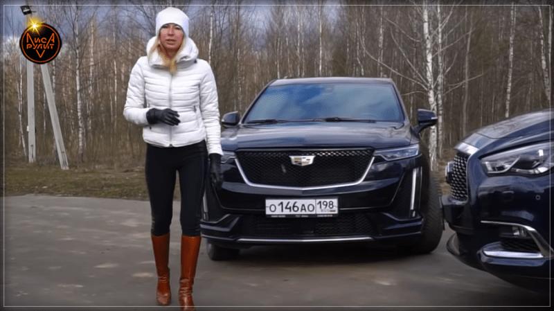 Обзор кроссовера Cadillac XT6 в режиме домашнего видео