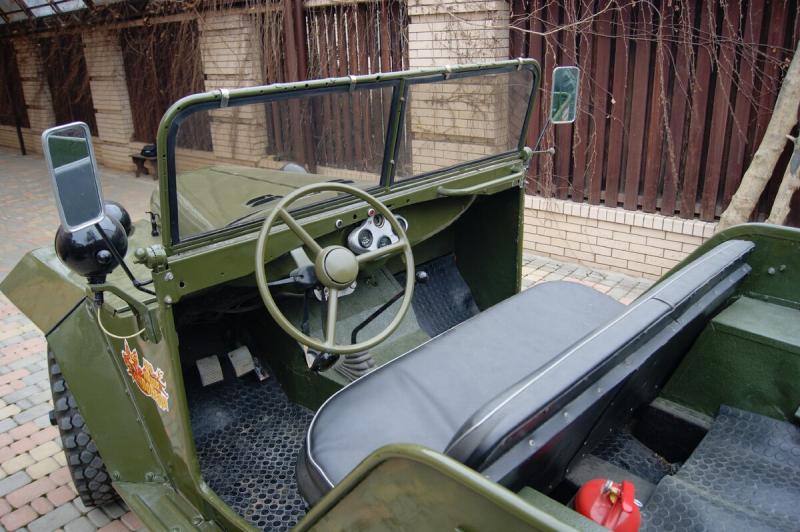 Обзор восстановленного автомобиля ГАЗ-67Б