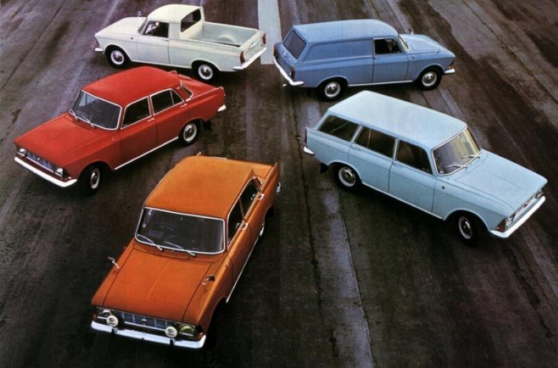 Шесть редких и необычных версий «Москвича-412»