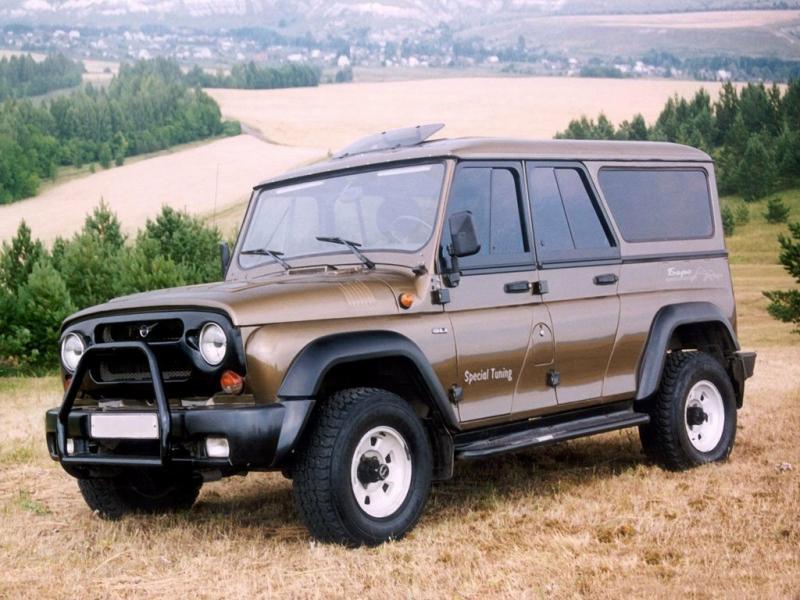УАЗ-3159 «Барс»: легендарный и редкий «зверь»