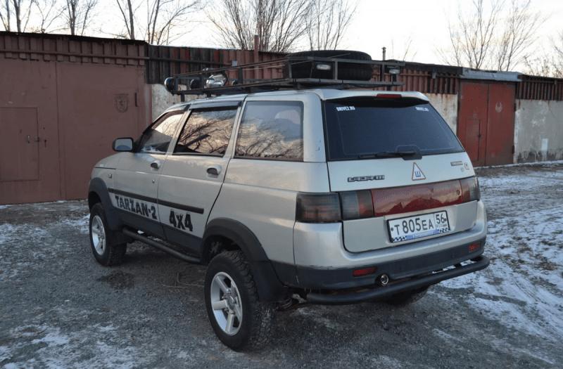 Внедорожник Lada Vesta Tarzan